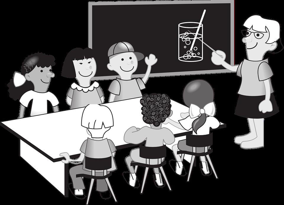 Free vector graphic: School Teacher, Teacher, School.