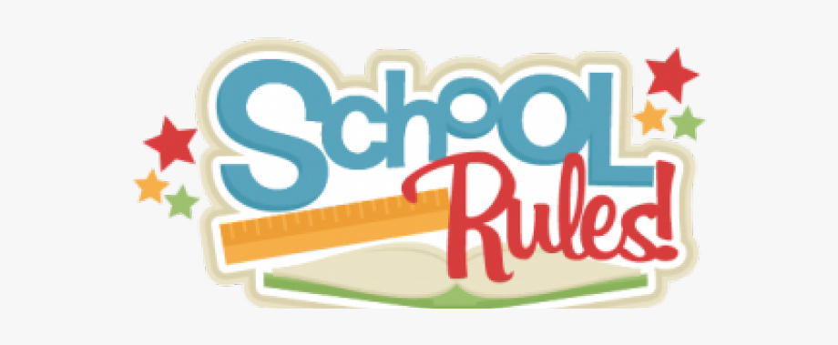 School Clipart Clipart School Rule.