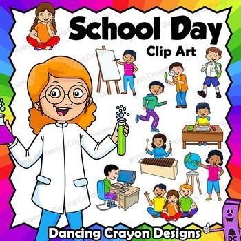 Clip Art School Schedule.