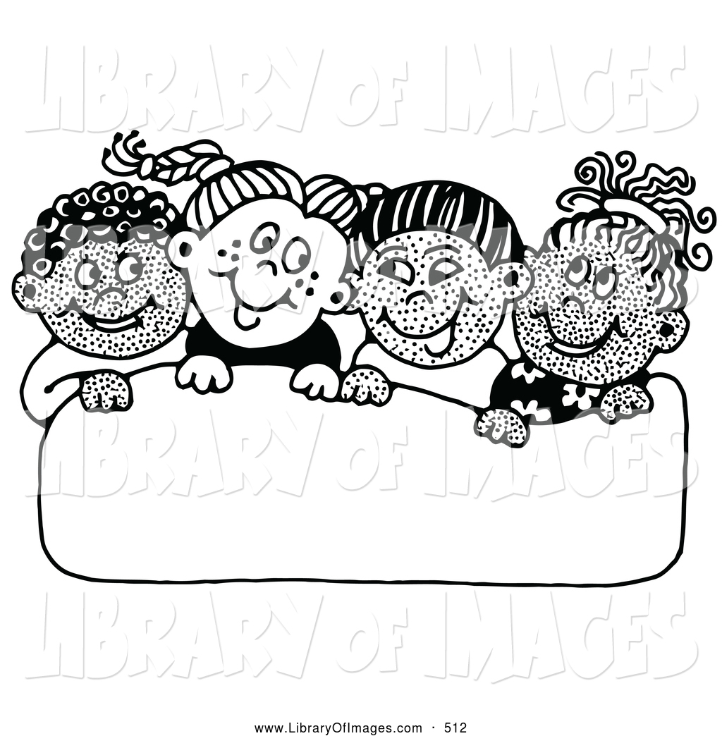 school singing in clipart black and white - Clipground