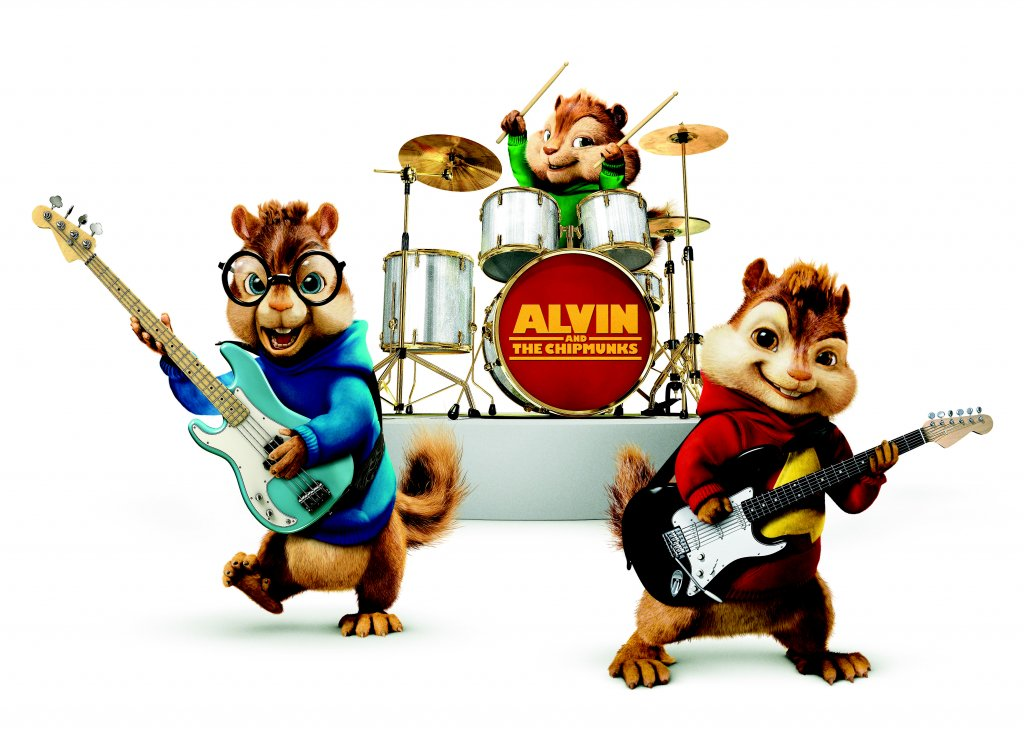 Alvin And The Chipmunks Clipart.