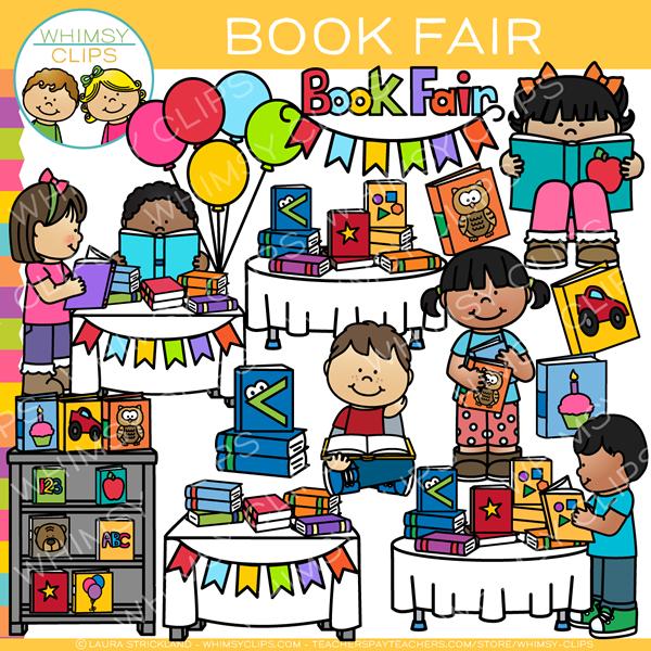 School Book Fair Clip Art.