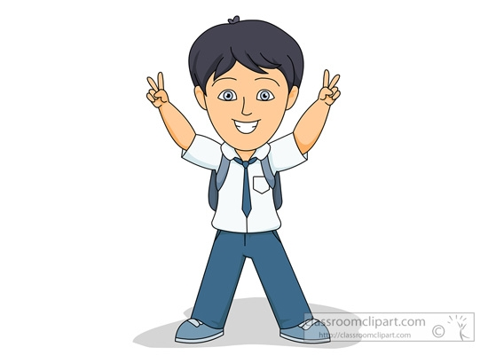 School Student Clipart Png.