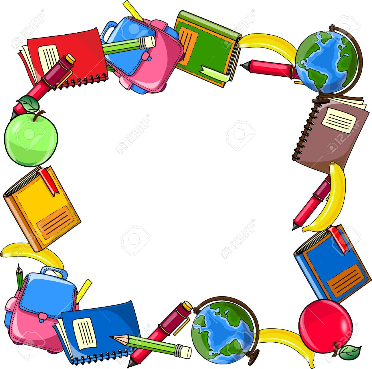 School Background, Vector Royalty Free Cliparts, Vectors, And.