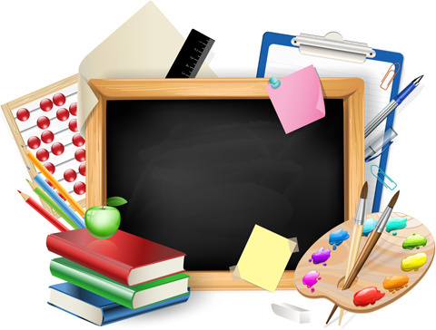 School supplies free vector download (1,605 Free vector) for.