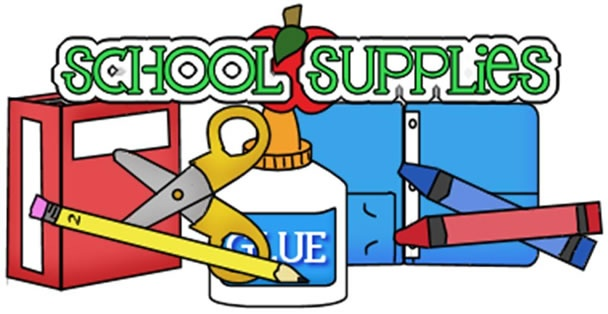 Clipart School Supplies Free.
