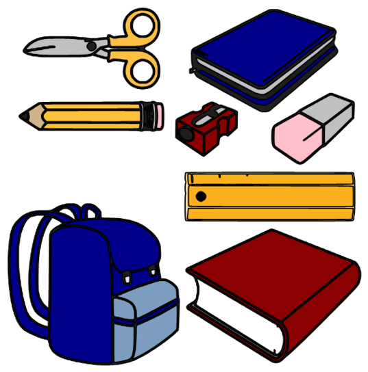 School Supplies Clipart & School Supplies Clip Art Images.