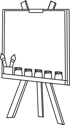 art supplies and coloring pages - photo#29