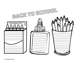 Image result for school supplies border clipart.