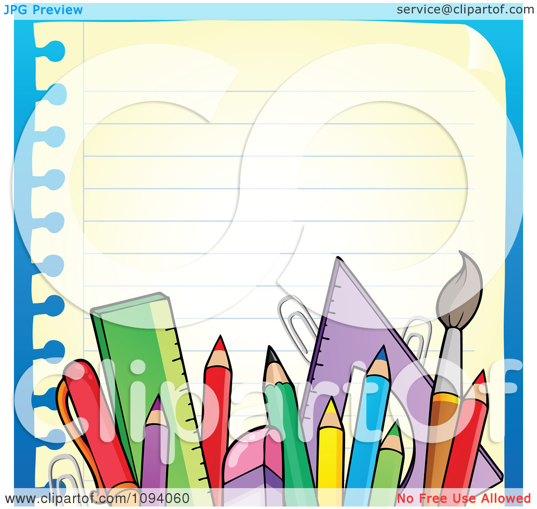 Free Printable Clipart School Supplies