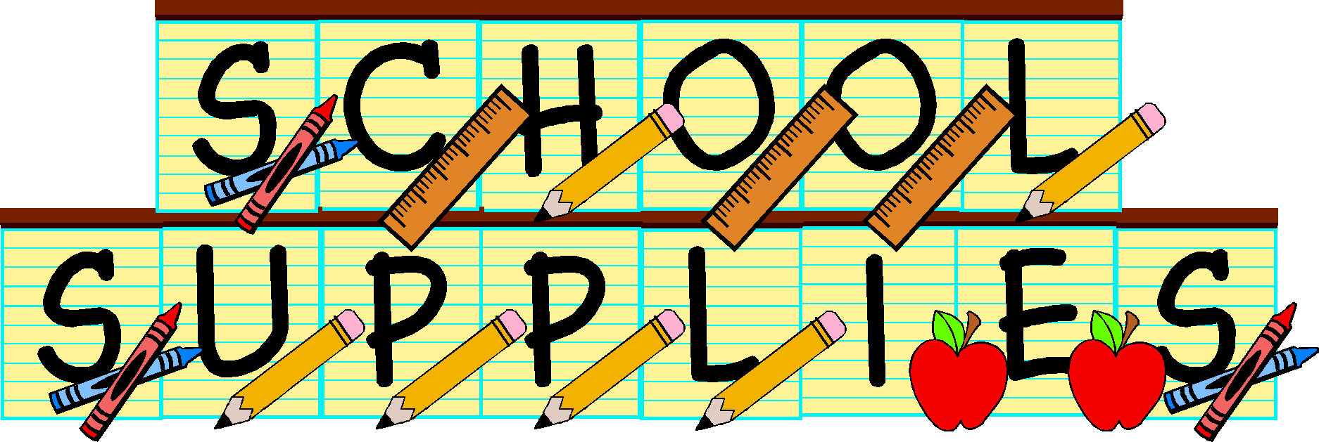 Free School Supplies Cliparts, Download Free Clip Art, Free.