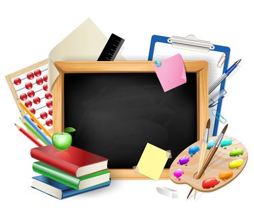 Image result for school supply clipart