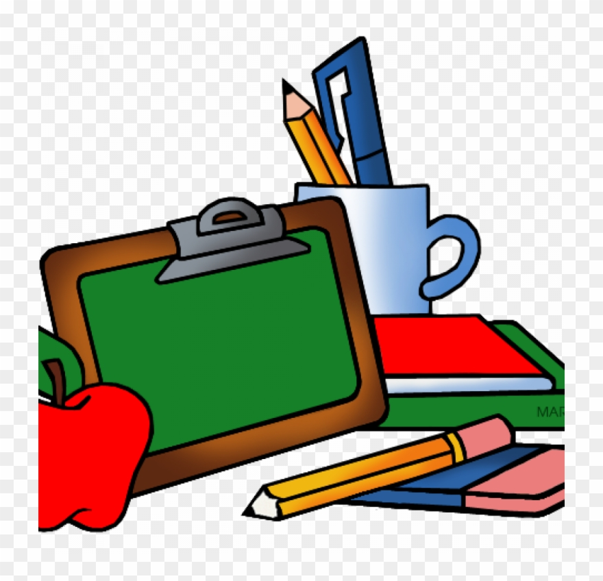 Download School Supplies Clipart.