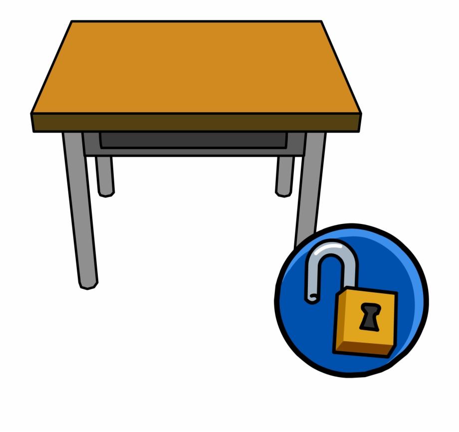 School Desk Png.