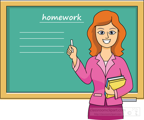 School For Teachers Clipart.