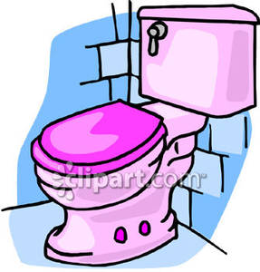Bathroom toilet clipart.