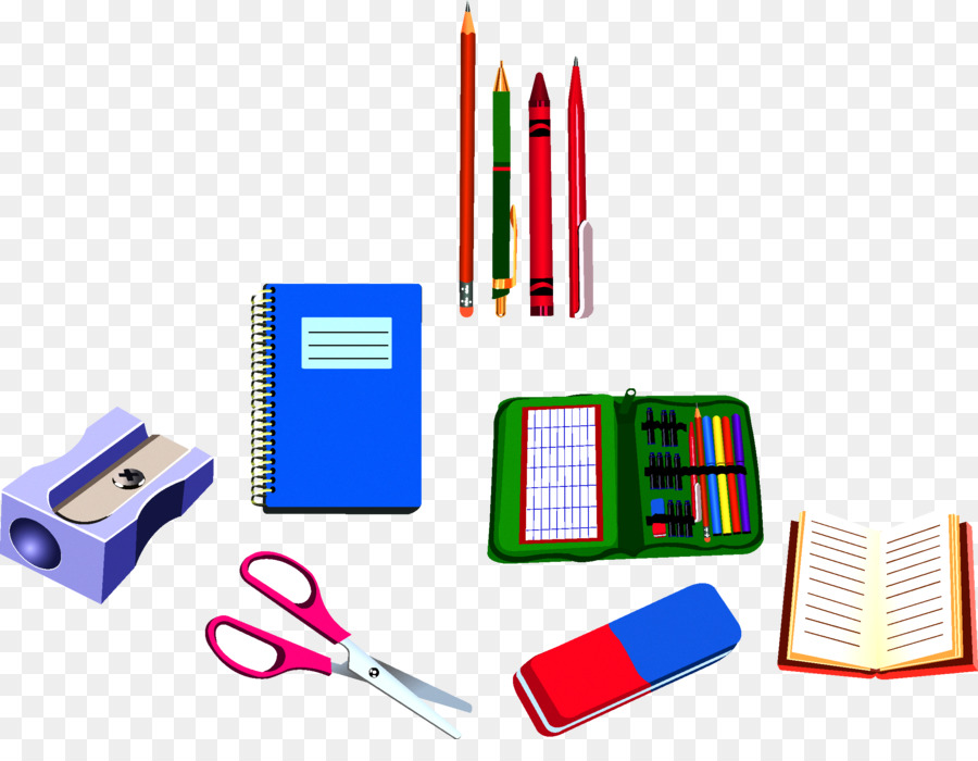 Download Free png School supplies Drawing Clip art learning.