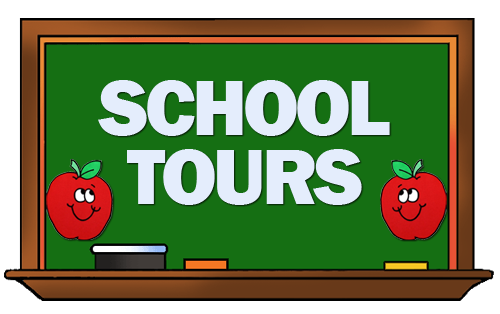 Tony Will Be Taking Visitors On A Tour Of The School Clipart.
