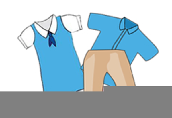 School Uniforms Clipart Free.