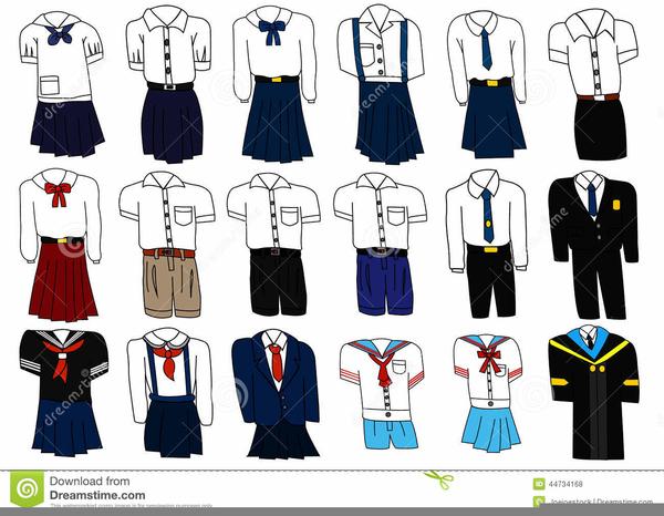 School Uniform Clipart Free.