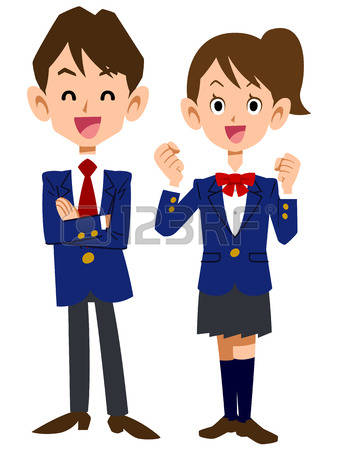 8,945 School Uniform Stock Illustrations, Cliparts And Royalty.