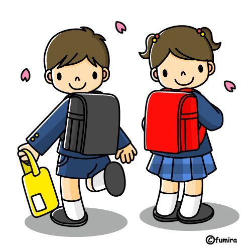 child in school uniform clipart - Clipground