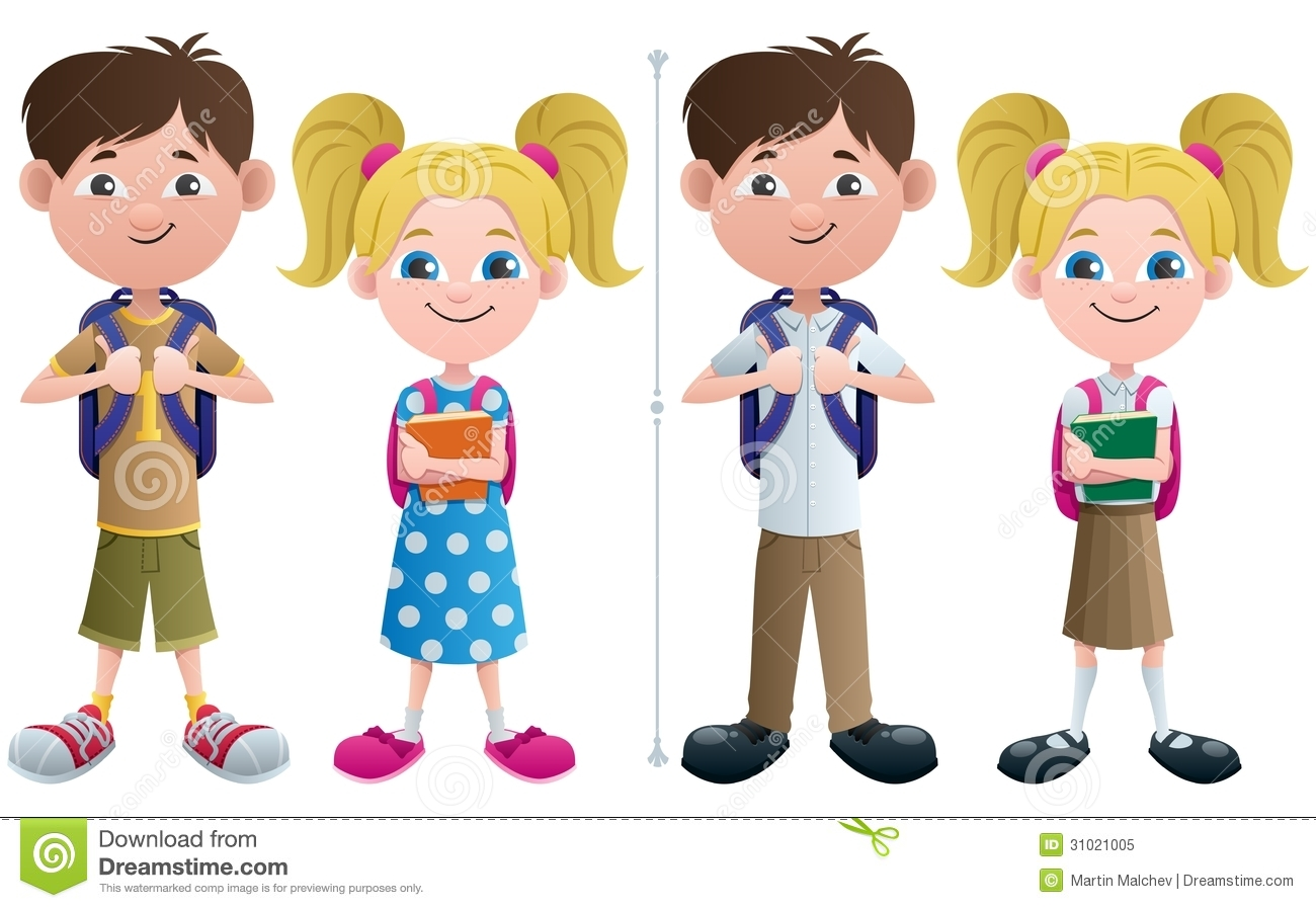 Catholic School Clipart Uniforms.