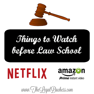 Things to Watch Before Law School.