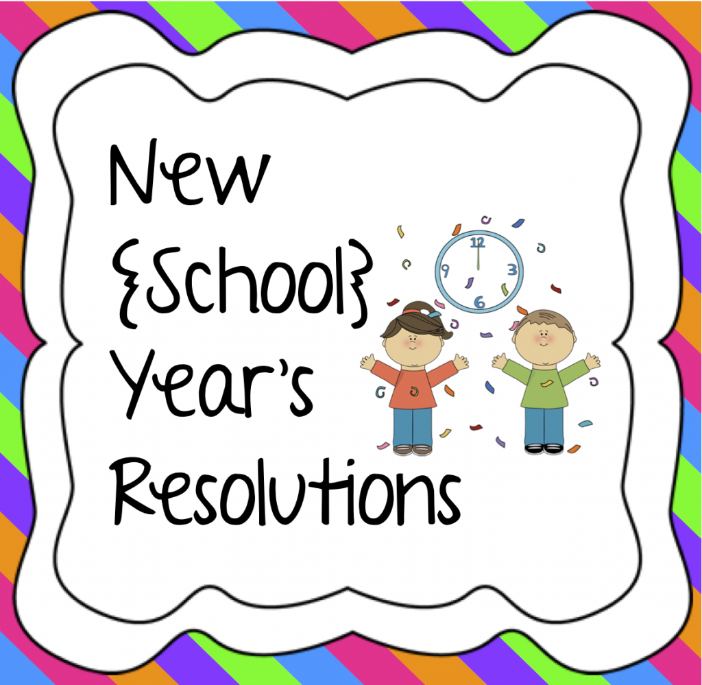 New school year clipart.