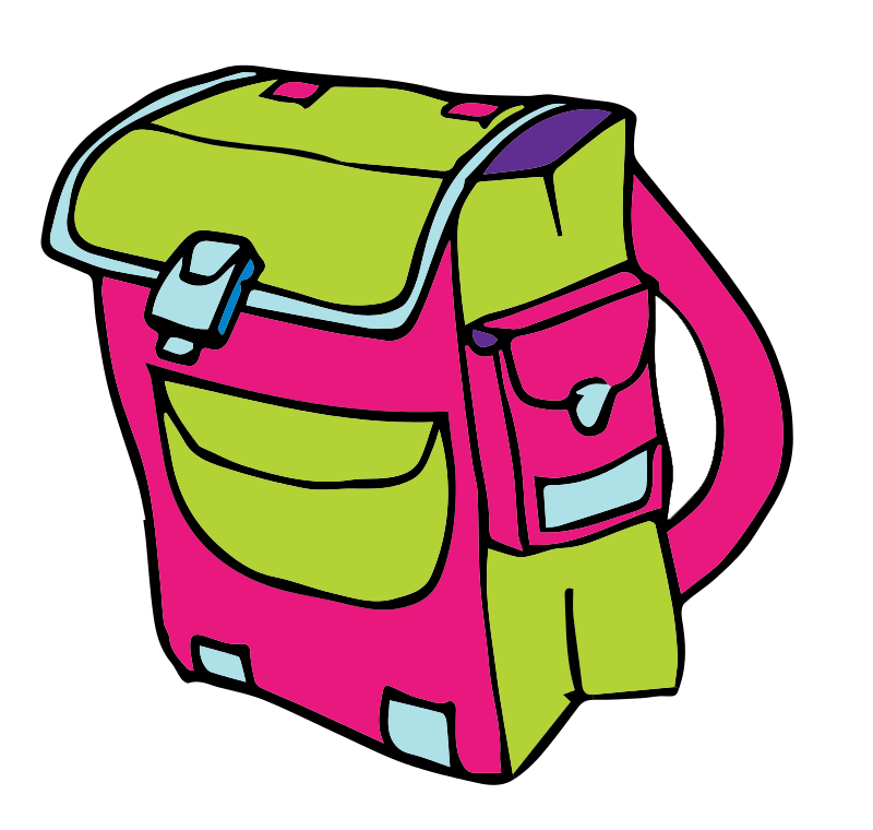 School Bag Clipart.