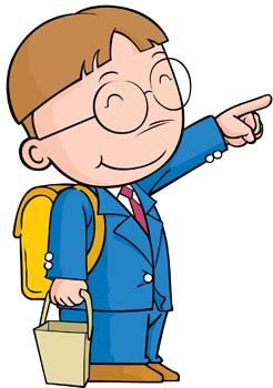 Schoolboy clipart #20