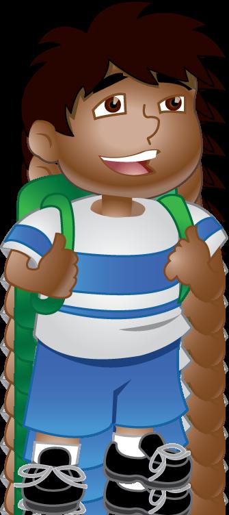 Schoolboy Clipart.