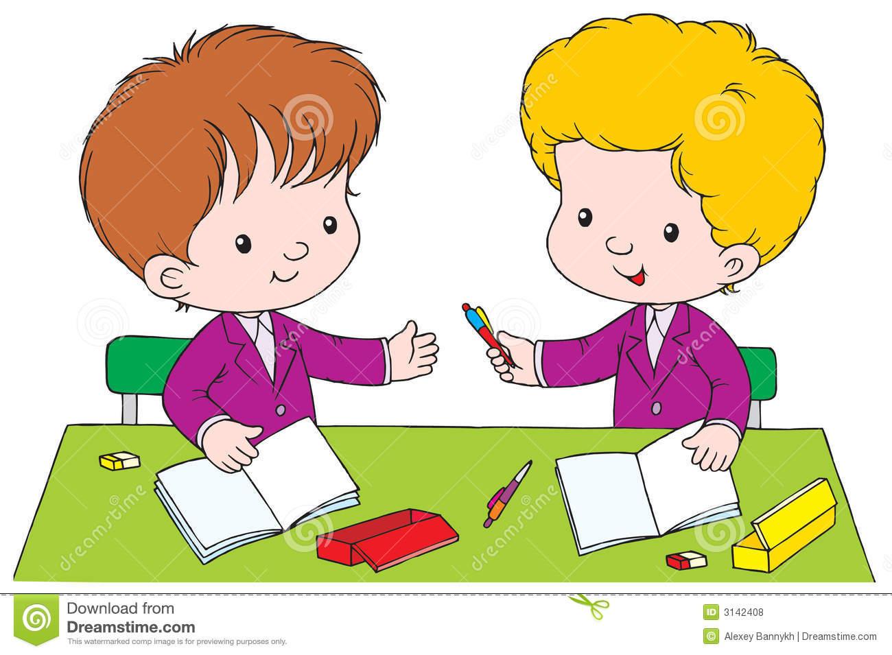 Schoolboys Stock Illustrations.