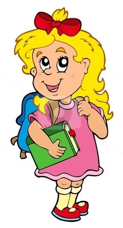 Schoolgirl Clipart.