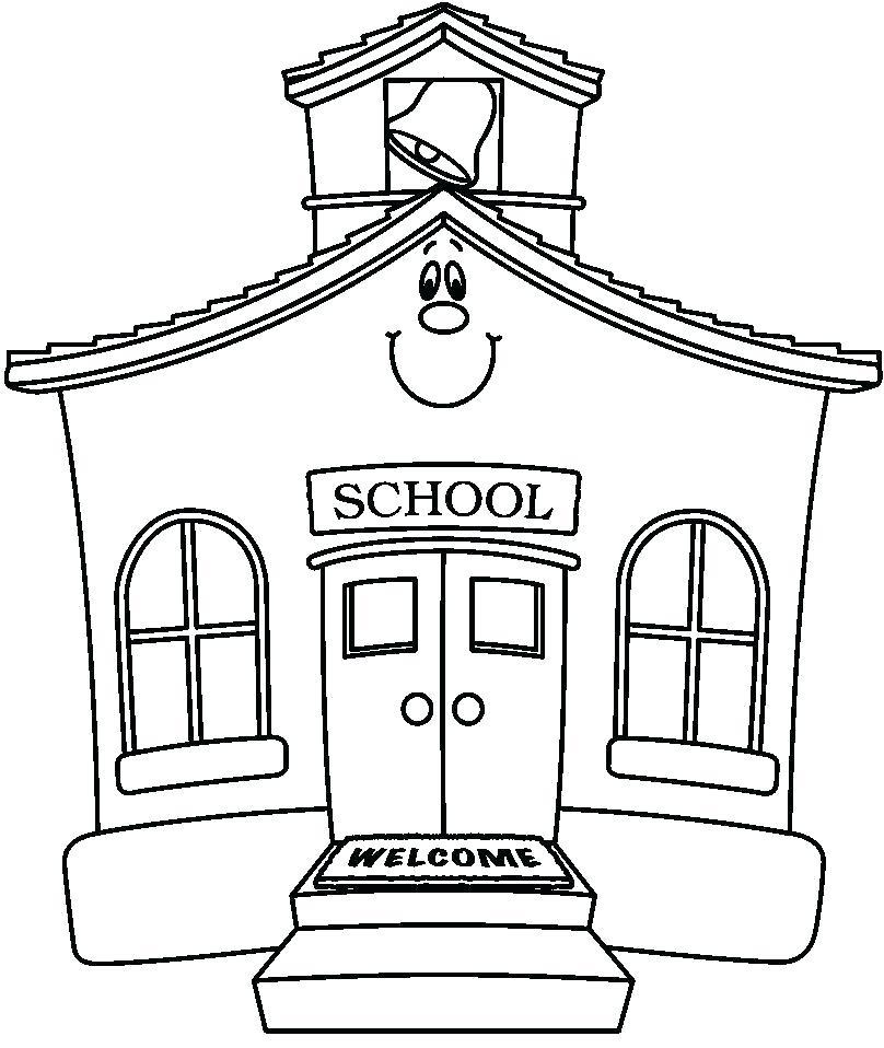 clipart schoolhouse.