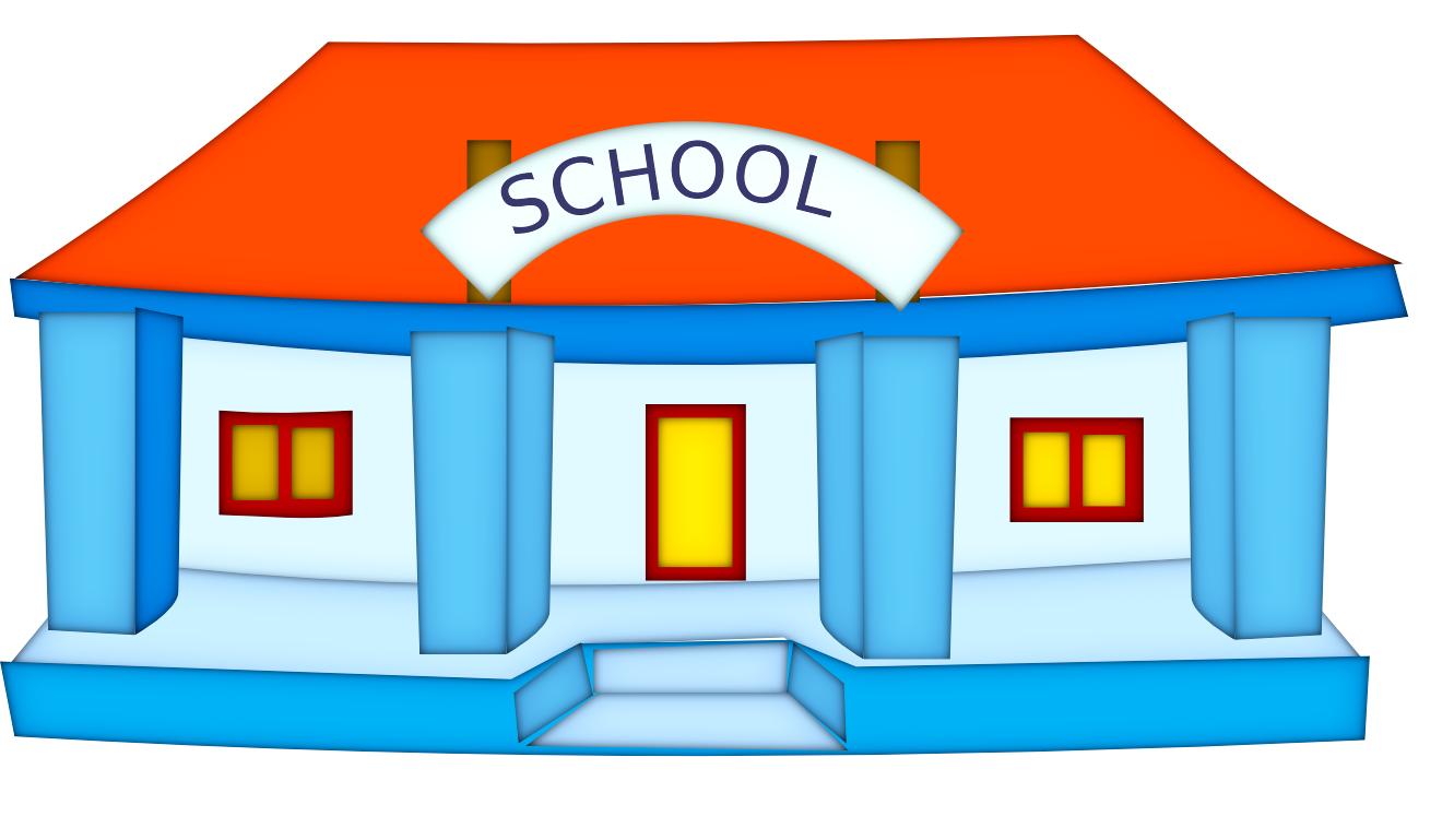 The School Clipart.