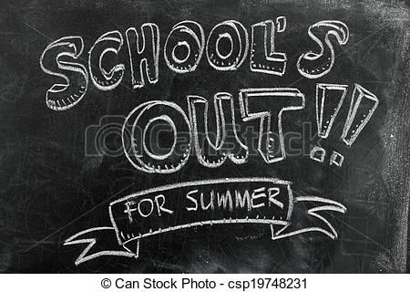 Image result for school\'s out for summer clip art.