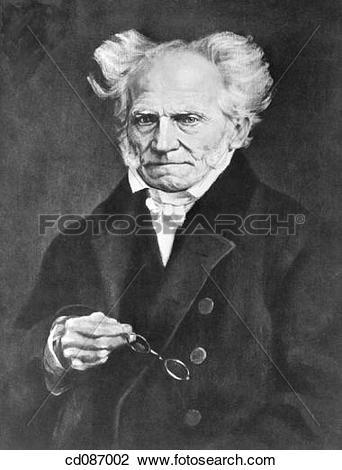 Stock Photo of Arthur Schopenhauer, german philosopher (1788.