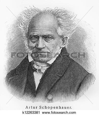 Stock Photography of Arthur Schopenhauer k12263381.