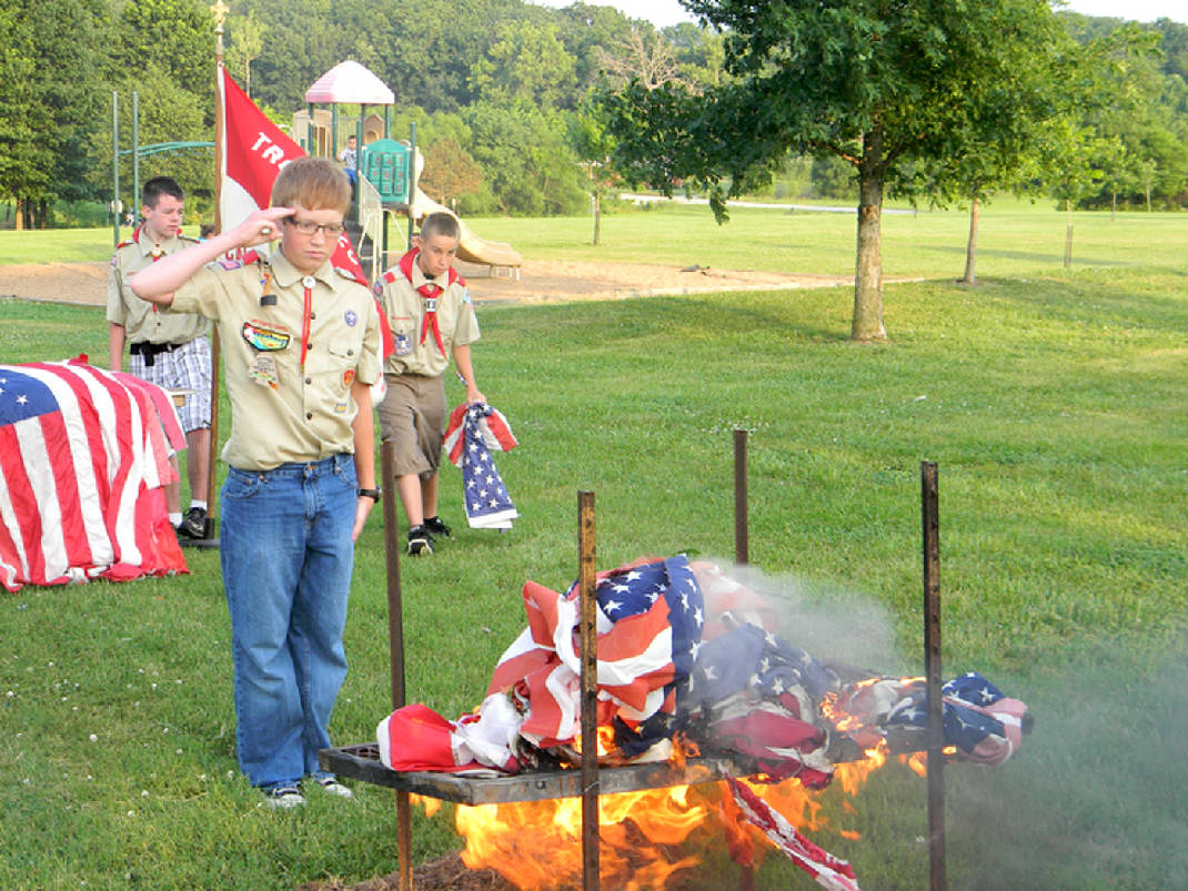 Boy Scout Flag Ceremony : Ukrobstep.com.