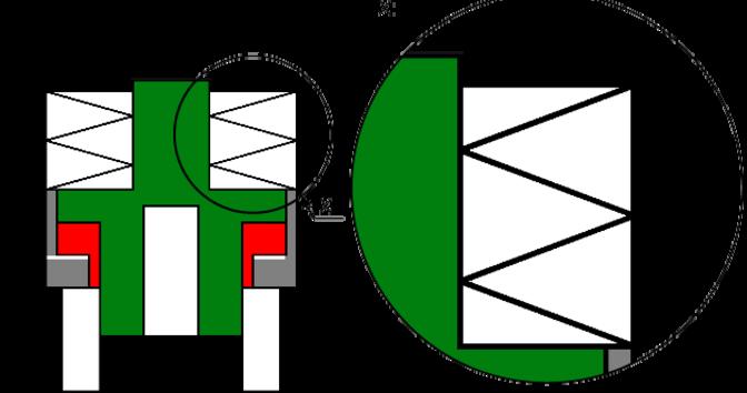 Hydraulic Bolt Tensioning Cylinder type ES, single.