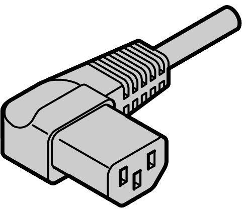 Equipment cable, SCHUKO/UTE.