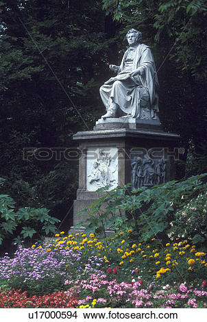 Stock Photo of Schubert, Vienna, Austria, Wien, Franz Schubert.