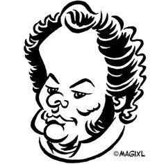 caricature clipart classic music and opera.