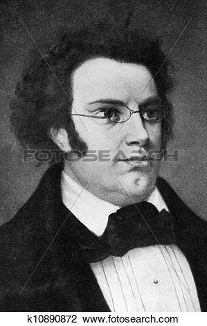 Stock Photo of Franz Schubert k10890872.