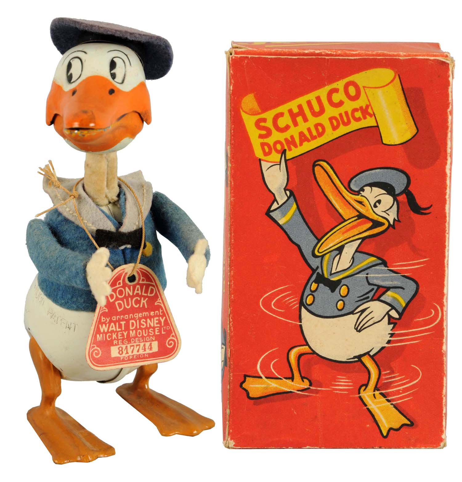 Schuco Walt Disney Donald Duck wind.