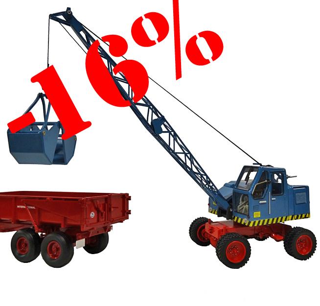 Schuco 450776500 Fuchs Excavator 301 1/32.
