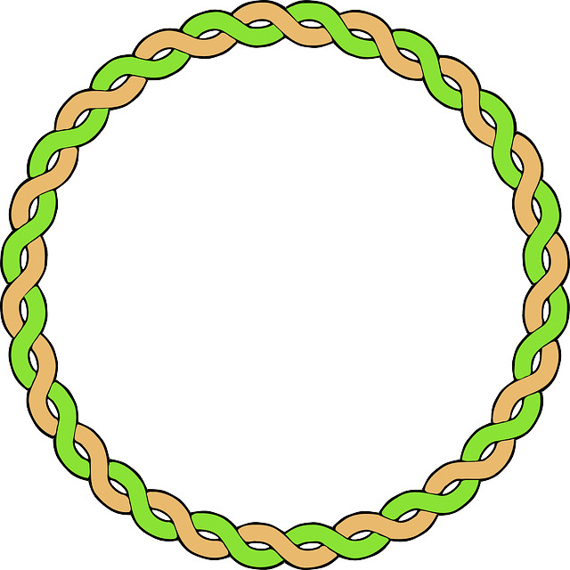 Free vector graphic: Braid, Plait, Border, Circle, Frame.