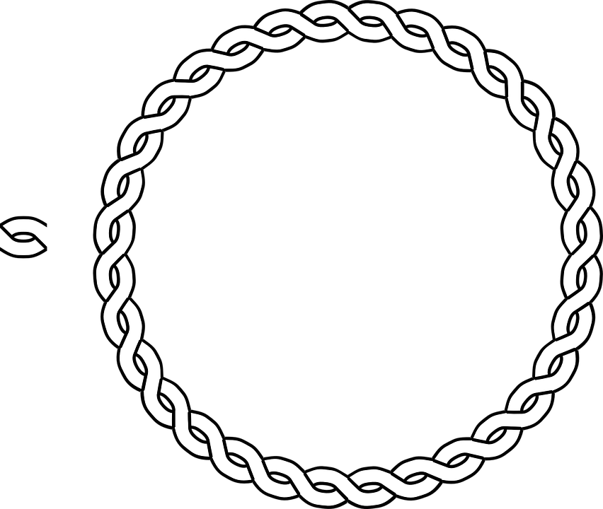 Free vector graphic: Border, Braid, Frame, Plait, Rope.