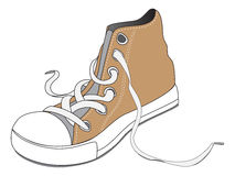 Old Shoe Drawing Stock Photos, Images, & Pictures.